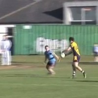 VIDEO: Michael Murphy's outrageous Sigerson Cup point