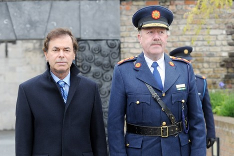 The GRA national executive has passed a motion of no confidence in Alan Shatter (left), and asked Garda Commissioner Martin Callinan (right) to outline his stance on proposed pay cuts.