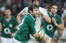 Crisis point: Gordon D'Arcy ruled out of 6 Nations remainder