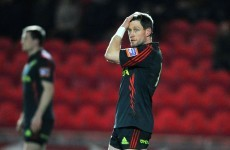 O'Gara has a nightmare as Munster fall to the Scarlets