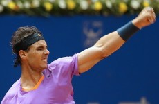 He's back! Nadal on the trophy trail again after 7 month absence