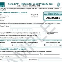 This is what the new Local Property Tax form will look like...