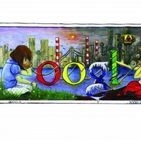 75 finalists compete to have drawing displayed on Google homepage