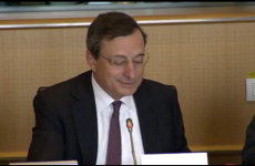 Draghi: ECB hasn't yet considered whether Irish deal is legal