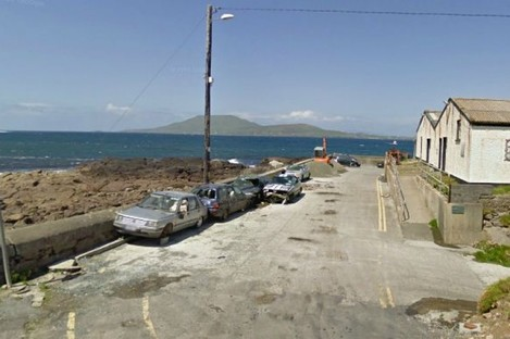 The start of Roonagh pier (File photo)