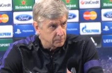 'There are a lot of experts who are not always right' -- Arsene Wenger fumes at angry press conference