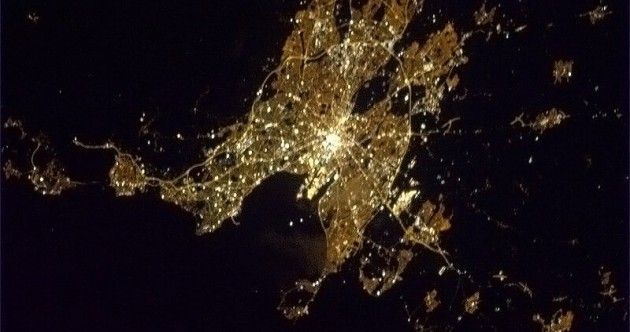 PHOTO: Check out this amazing picture of Dublin from space
