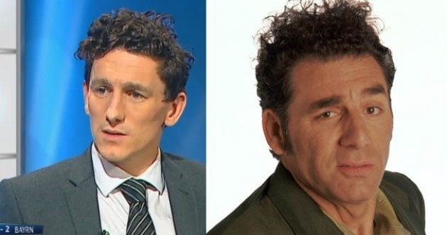 'Keith Andrews looks like Kramer from Seinfeld' -- midfielder's new hair sends Ireland wild