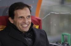 Bullish Milan ready for Barca, says Allegri