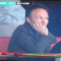 'It's all gone Pete Tong' -- ITV pick out unimpressed-looking superstar DJ during Gunners game