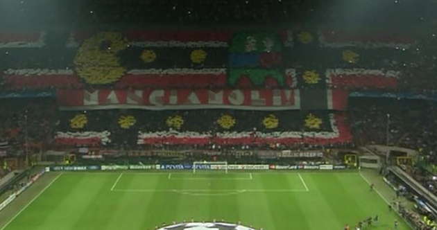 Snapshot: Milan supporters really made the effort ahead of tonight's game
