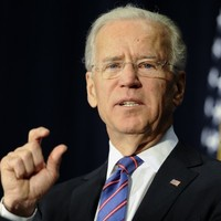 Biden urges action on gun control in conference attended by Sandy Hook parents