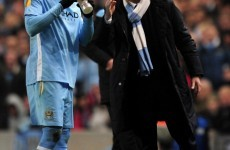 Mario Balotelli backs under-fire Mancini