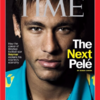 The Next Pelé? Time Magazine thinks Neymar is set for a life of goals and Viagra adverts