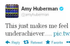 Tweet Sweeper: Amy Huberman knows babies don't come easy
