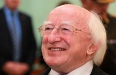 President awarded Honorary Freedom of Ennis
