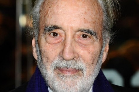 """Sir Christopher Lee, who will receive the Academy Fellowship at this month's Baftas after being hailed as a """"bastion of British film-making around the globe""""."""