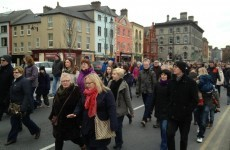 Thousands turn out for Waterford hospital rally