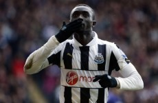 Holy Moly! Look at what Papiss Cissé just did against Southampton...