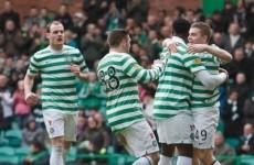 Joe Ledley grabs brace as rampant Celtic go 21 points clear