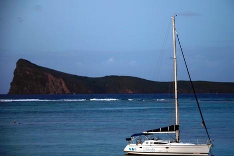 File photo of Mire island on Mauritius