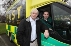 Ambulances double as billboards to boost awareness of stroke signs