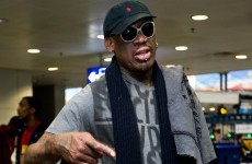 Former basketball star Dennis Rodman on peace mission to North Korea