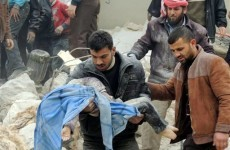 Syrian missiles kill at least 141 in Syria