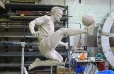 Confirmed: You'll be seeing this Dennis Bergkamp statue outside the Emirates next season