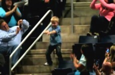 VIDEO: Dancing kid steals the show