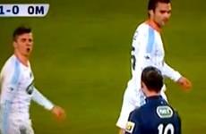 Joey Barton tells Zlatan he has a big nose, despite the language barrier