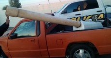 'Marijuana cannon' used to fire drugs over US border seized in Mexico