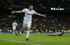 Sorry, m'lud! Benzema was only 116 kmph over the speed limit when caught