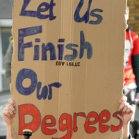 Coalition sees disagreements over student grants