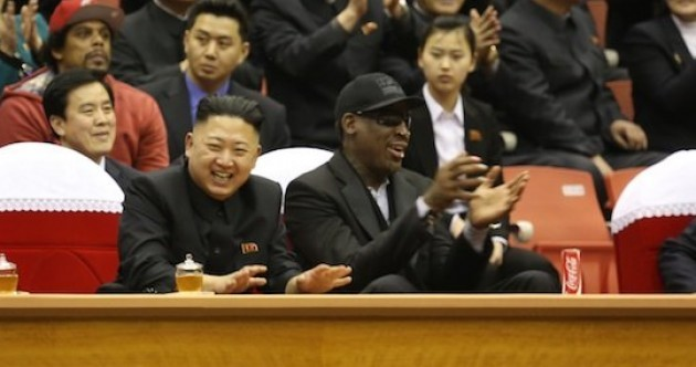 Here's your 'Dennis Rodman and Kim Jong-Un just chilling' pic of the day