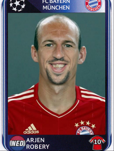 Snapshot: What Arjen Robben and Franck Ribéry would look like as a single entity