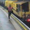 VIDEO: Runaway train races through the London Underground