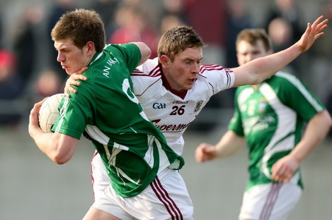 John Heslin and Conor Doherty of Galway.