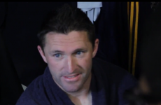 VIDEO: Robbie Keane was not impressed by team-mate's celebration tumble