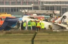 Six confirmed dead after plane flips over on landing in Cork
