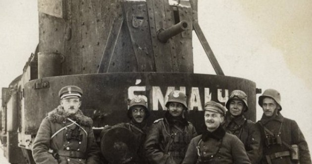 These armoured trains played vital role in both world wars