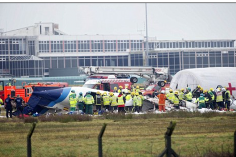 Emergency services are on the scene at Cork airport
