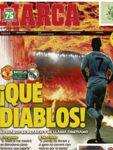 'The devil is white as his name is Cristiano' - Madrid ready to face Fergie's firing squad
