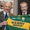 The second man to walk on the moon, Buzz Aldrin, now owns a Kerry jersey