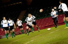 If Deccie's stuck for an out-half, he might want to check the Irish police rugby team