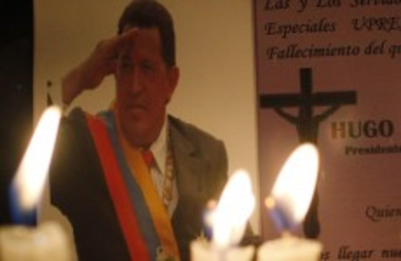 express sadness at death of Hugo Chavez
