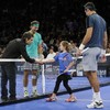 Imagine getting called out on court to play tennis with Nadal, del Potro and Ben Stiller...