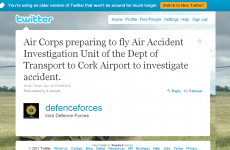 How news of the Cork disaster broke on Twitter