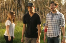 VIDEO:  Humans yelling like goats yelling like humans