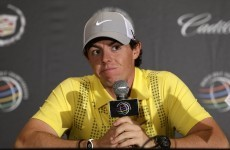 McIlroy apologises for walking off, says Nike equipment is 'fantastic'